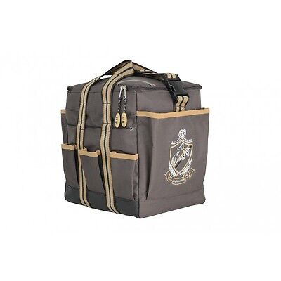 HySHINE Deluxe Grooming Bag - Chocolate - Horse Equestrian Grooming Boxes & Bags