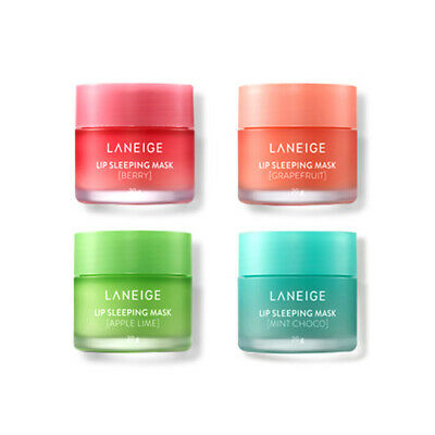 [LANEIGE] Lip Sleeping Mask 20g / Berry / Grapefruit / Apple / Vanilla