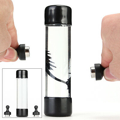 Magnetic Ferrofluid Bottle Amazing Liquid With 2 Magnet Pressure Relief Toy Gift
