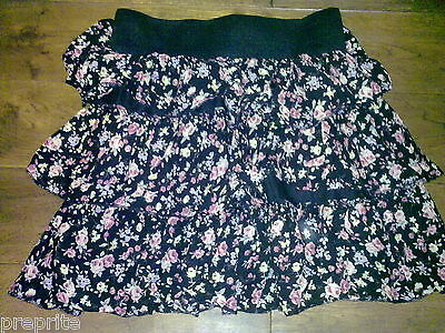 Generation New Look Aged 13 Years Floral Tiered Skirt