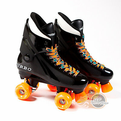 Ventro Pro Turbo Quad Roller Skates, Bauer Style - Teal Orange