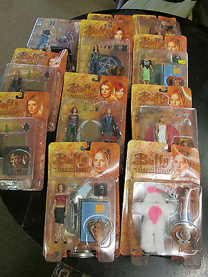 Buffy the Vampire Slayer / Angel Carded Action Figures Moore Diamond
