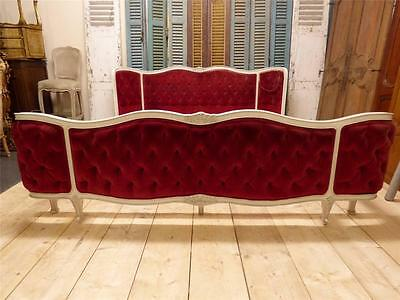 Rare Vintage French Super King Size Bed