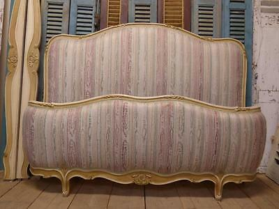RARE VINTAGE FRENCH KING SIZE BED - GREAT FRAME - fd56
