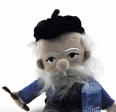 Claude Monet Soft Toy - Little Thinkers Doll