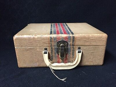 """Vintage Old Case with Clasp 12"""" X 5"""" X 9"""""""