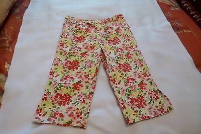 Girls Floral Jeans - size 8 - cute & stylish - by Mary-Kate & Ashley - EUC