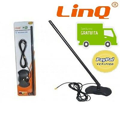 ANTENNA WIFI WIRELESS LAN 28DBi OMNIDIREZIONALE WI-FI 2.4GHz LINQ