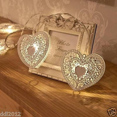 1.2M Battery Operated Indoor Bedroom Love Heart Wedding Fairy String LED Lights
