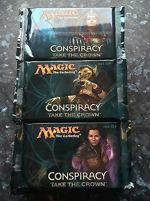 23x MTG Conspiracy Take The Crown new & sealed Boosters