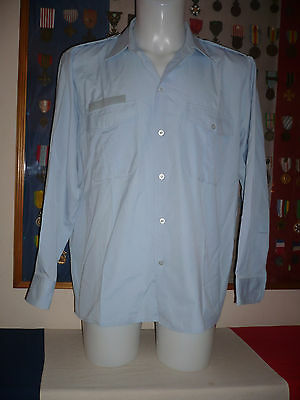 POLICE Gendarmerie  Chemise manches longues taille 41/42
