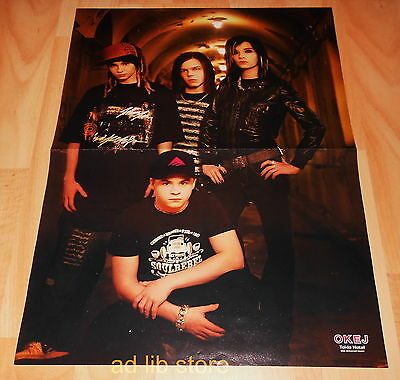 Tokio Hotel, Ola Salo The Ark - Fold-Out From Magazine Poster