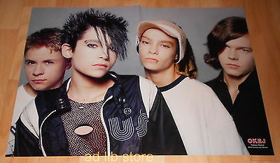 Tokio Hotel, Darin - Fold-Out From Magazine Poster