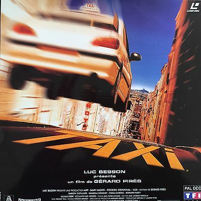 Laserdisc -  Taxi Vf Pal Ws - Luc Besson