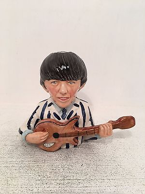 Manor Collectables George Harrison Limited Edition Toby Jug 482 of 1963 *MINT*