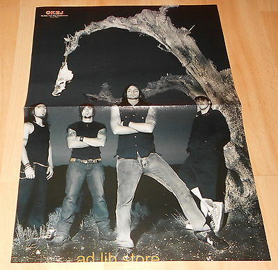 Bullet For My Valentine, An Café - Fold-Out From Magazine Poster