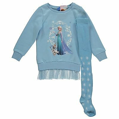Character Fleece Dress Set Girls Frozen Elsa 7-8 Years!!!!
