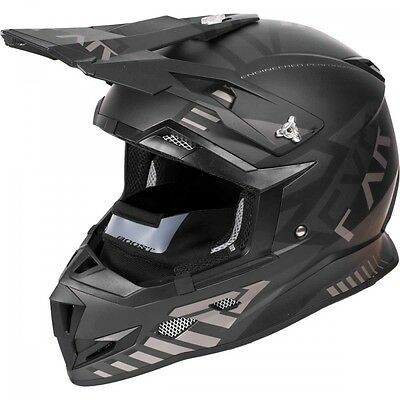 FXR Boost Battalion Helmet Black Ops MEDIUM