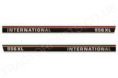 International 856XL Bonnett Decal Sticker Set - Quality Vinyl Decal Transfers