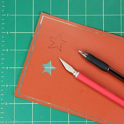 Armour Over n Over Self Stick Reusable Glass Etching Stencil Blanks