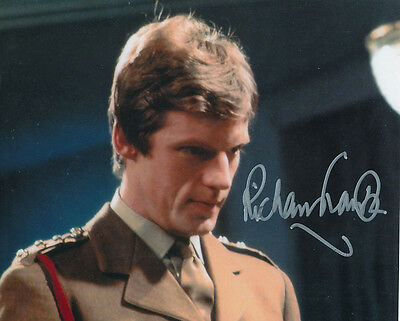 Richard Franklin In Person Signed Photo - B168 - Doctor Who