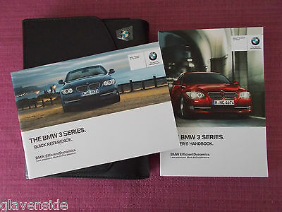 BMW 3 SERIES COUPE &  CONVERTIBLE WITH iDrive HANDBOOK - OWNERS MANUAL (BM 624)