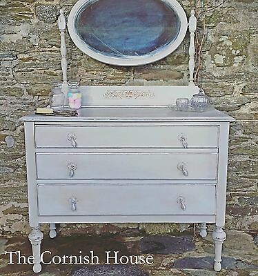 Lostwithiel Antique Chest of Drawers Vanity Dressing Table Chiffonier
