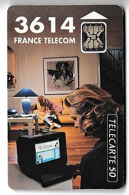 VARIETE TELECARTE FRANCE .. 50U F290a 3614 SC4AN S/T 9N°R C29040577 UT/BE C.450€