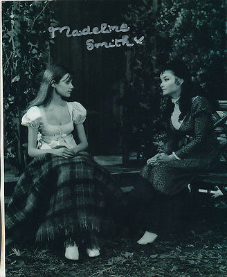 Madeline Smith In Person Signed Photo - B175 - The Vampire Lovers
