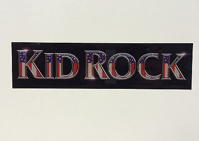 "KID ROCK sticker - official sticker from ""Cocky"" Atlantic Records Free Shipping!"