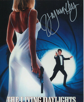 Virginia Hey In Person Signed Poster Photo - B186 - James Bond