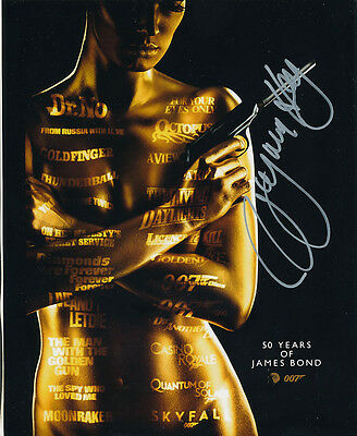 Virginia Hey In Person Signed Poster Photo - B191 - James Bond
