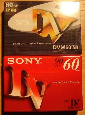 29 branded digital video dv tapes.  60 minutes each. Panasonic Sony Maxell TDK.