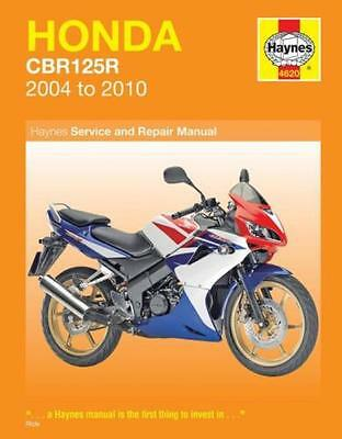 MAN4620 Haynes Workshop Manual Honda CBR CBR125 models 2004 to 2010