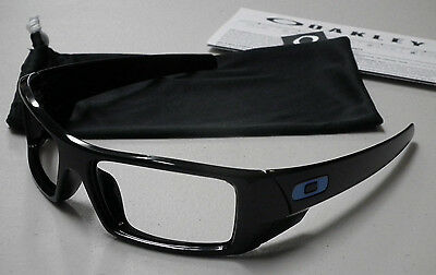 Oakley Gascan Polished Black Blue Icons Sunglasses Frame Oo9014-15 *authentic*