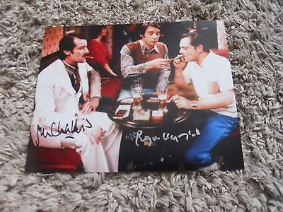 JOHN CHALLIS AND ROGER LLOYD PACK SIGNED PHOTO [obtained in person]