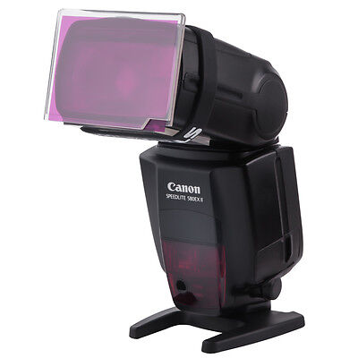 Universal Flash Holder for Lighting Gel Color Filters Strobist *AMAZING Design*