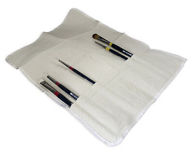 Artists Fabric Cloth 12 Capacity Storage Paint Brush Roll