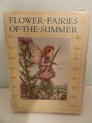 Flower Fairies Of The Summer by Cicely Mary Barker 1940's Hardcover