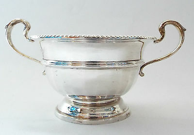 Bowl Fifties Classic Georgian Revival Solid Sterling Silver Adie Brothers 1952
