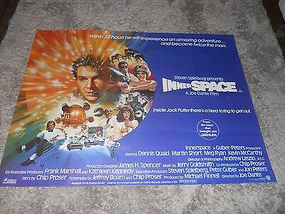 Innerspace British Quad / Dennis Quaid , Meg Ryan