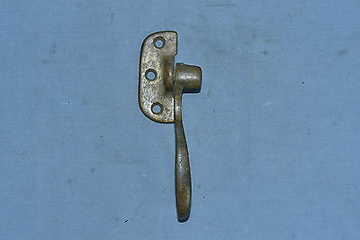 Antique ICE BOX HARDWARE BRASS HANDLE RESTORATION PART OLD Lot #98