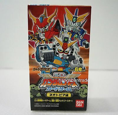 Bandai SD Gundam Force The Mystery of LaCroix Card Game Booster Box