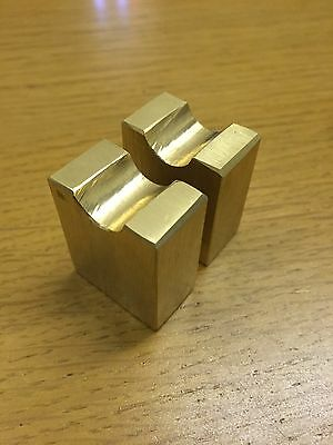 English Wheel Brass Inserts For Bottom Anvils
