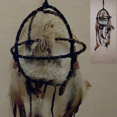 3D Howling Wolf Dream Catcher Reproduction