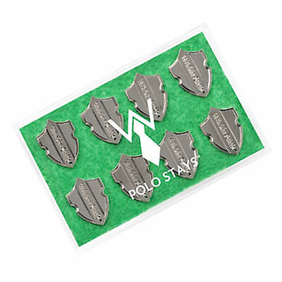 Wurkin Stiffs?16 Polo Iron On Adhesive Collar Stays w/ Clear Packaging