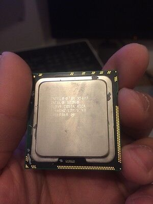 Intel Xeon X5677 3.46GHz 12M Quad Core SLBV9 CPU Processor MAC PRO 5,1