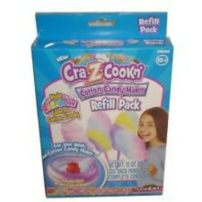 Cra-Z-cookn' Cotton Candy Maker Refill Pack NEW