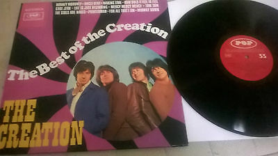 The Creation – The Best Of REISSUE LP  near mint! ronnie wood