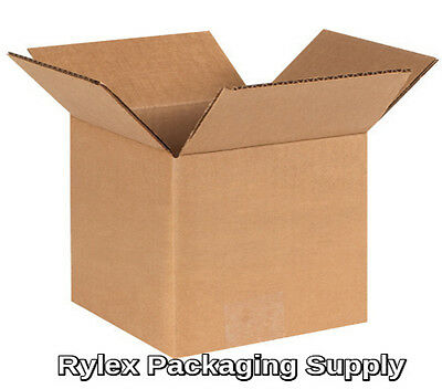 """200 10x8x3"""" Corrugated Shipping Boxes Packing Storage Cartons Cardboard Box"""
